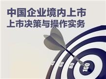 中国企业境内上市:上市决策与操作实务(上)