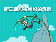 新三板股权纠纷的风险