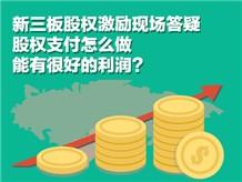 新三板股权激励现场答疑股权支付怎么做能有很好的利润?