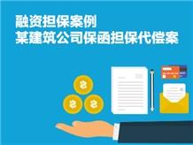 融资担保案例:某建筑公司保函担保代偿案