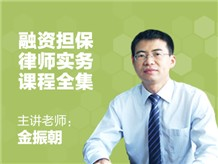 融资担保律师实务【附赠3份法律意见书/建议书】