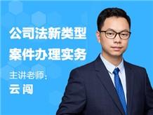 《公司法新类型案件办理7大专题》【实务+案例】