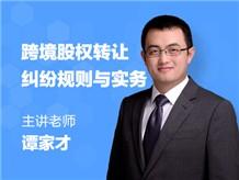 跨境股权转让纠纷规则与实务(含合同协议范本)