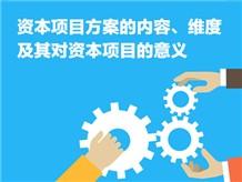 资本项目方案的内容、维度及其对资本项目的意义