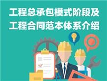 工程总承包模式阶段及工程合同范本体系介绍