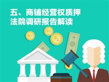 五、商铺经营权质押——法院调研报告解读