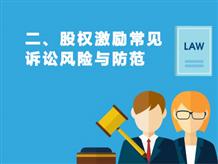 二、股权激励常见诉讼风险与防范
