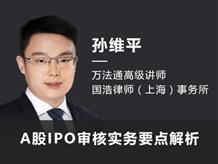 A股IPO审核实务要点解析
